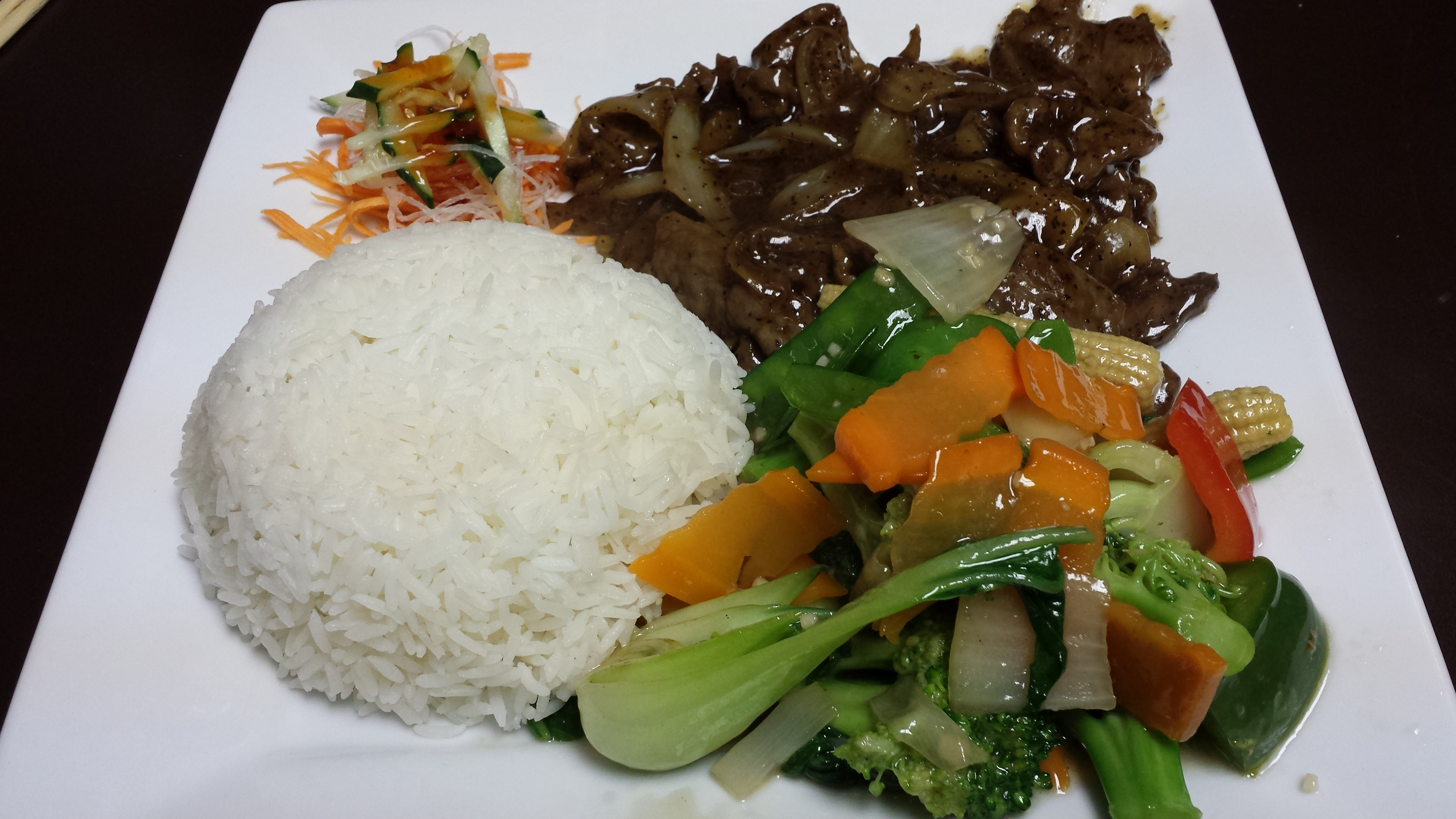 Add 2 with vegetable for lunch special asian fusion 168 for Asian 168 cuisine