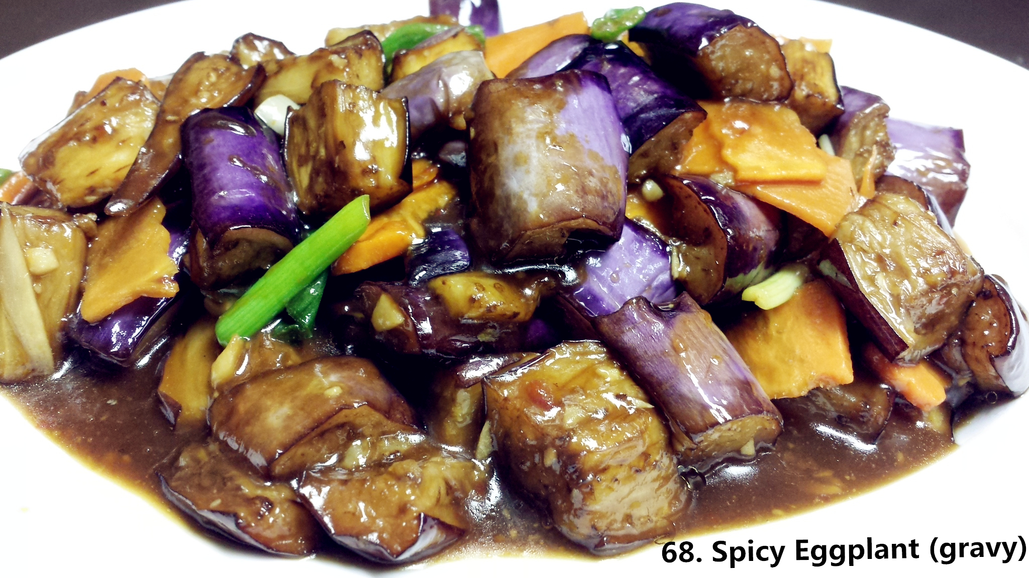 68 spicy eggplant gravy asian fusion 168 for Asian 168 cuisine