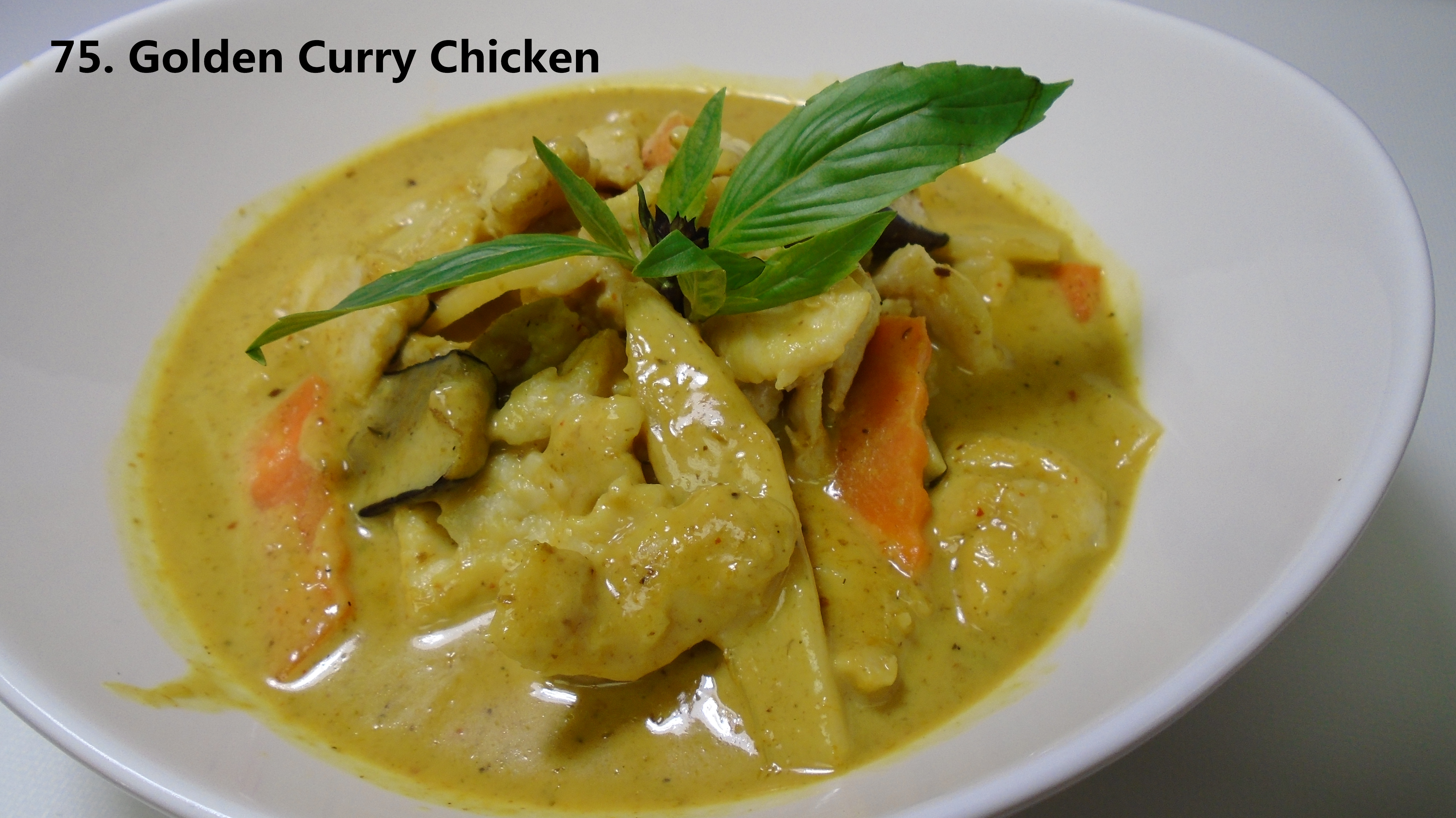 75 golden curry chicken asian fusion 168 for Asian 168 cuisine
