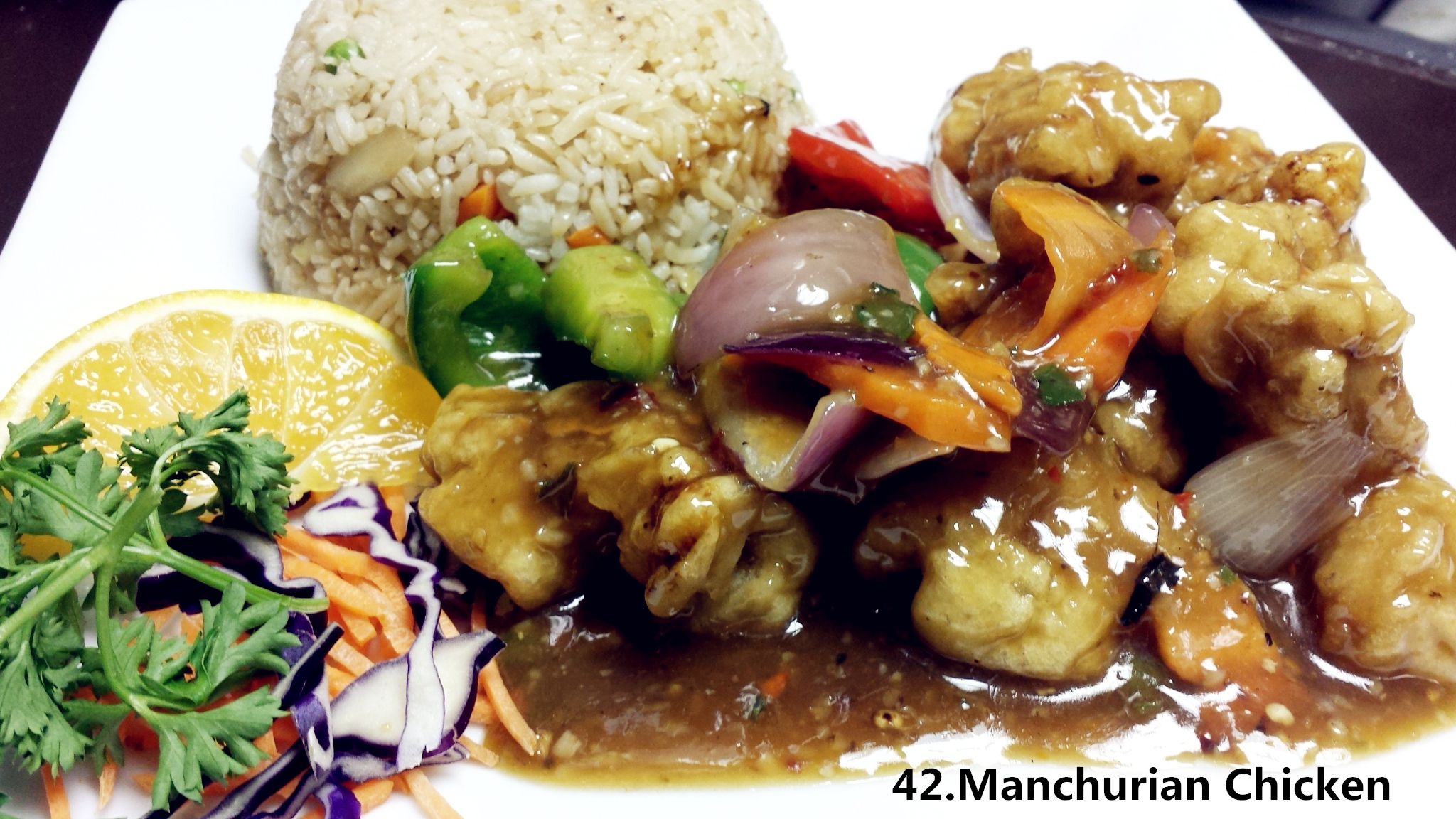 Manchurian chicken asian fusion 168 for Asian 168 cuisine